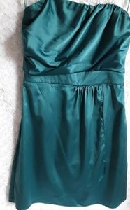 Beautiful teal-like dress by Express